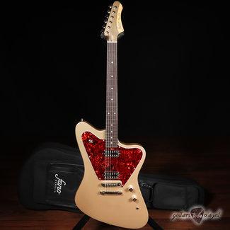 Fano Fano PX6 Oltre TV Jones Classic Electric Guitar w/ Gigbag – Shoreline Gold