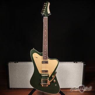 Fano Fano PX6 Alt de Facto Mahogany Body & Set Neck w/ TV Jones – Cadillac Green