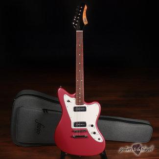 Fano Fano JM6 Omnis Series P-90 Electric Guitar w/ Gigbag – Burgundy Mist (B-Stock)