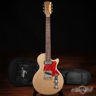 Fano Fano SP6 Oltre Lollar Gold Foil/Vintage T Guitar w/ Gigbag – Shoreline Gold