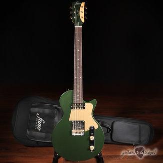 Fano Fano SP6 Oltre Lollar Gold Foil/Special T Guitar w/ Gigbag – Cadillac Green