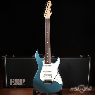 ESP ESP Snapper-7-AL/R Original Series Japan 7-String Guitar w/ Case – Supreme Blue