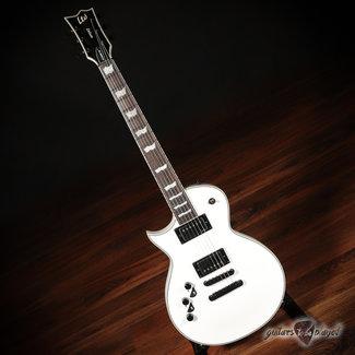 "ESP LTD ESP LTD EC-1001T CTM LH ""Full Thickness"" Left-Handed Guitar – Snow White"