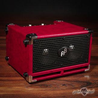 "Phil Jones Phil Jones Bass BG-120 Bass Cub Pro 2x5"" 120W Combo Amp w/ Cover – Red"