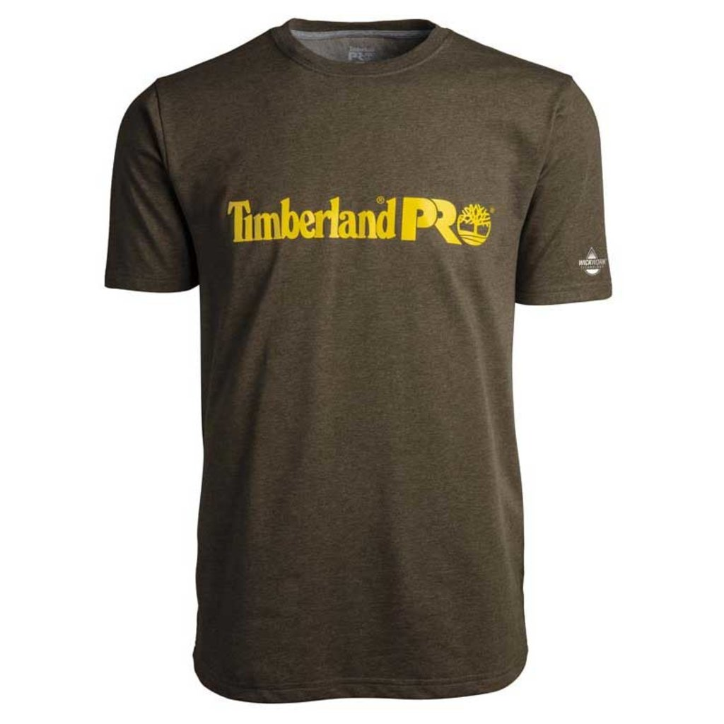 Timberland Pro TB0A1V9M - Base Plate Short Sleeve T-Shirt with Logo
