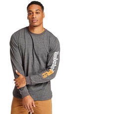 Timberland Pro TB0A1HRV - Base Plate Blended Long-Sleeve T-shirt w/ Logo