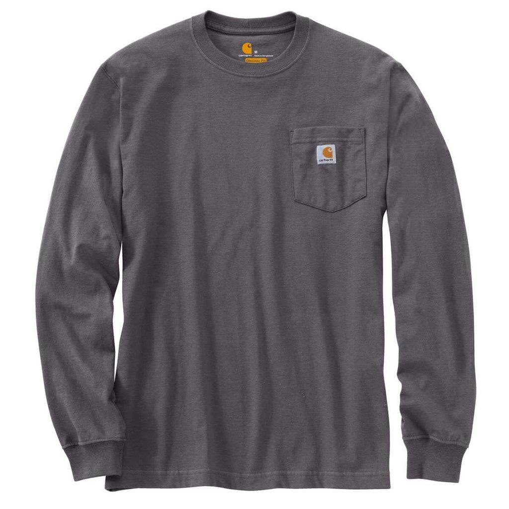 Carhartt K126 - Loose Fit Heavyweight Long-Sleeve Pocket T-Shirt