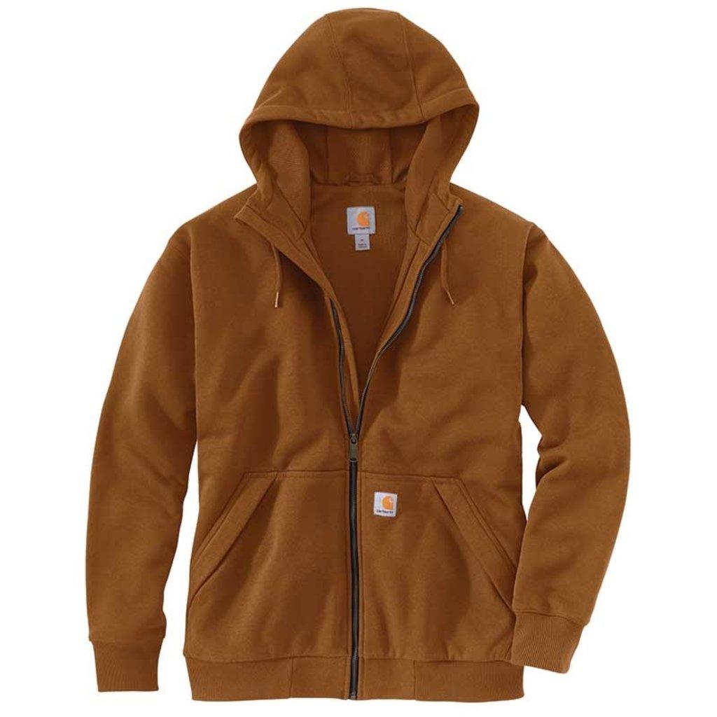Carhartt 104078 - Rain Defender Loose Fit Midweight Lined Front-Zip Sweatshirt