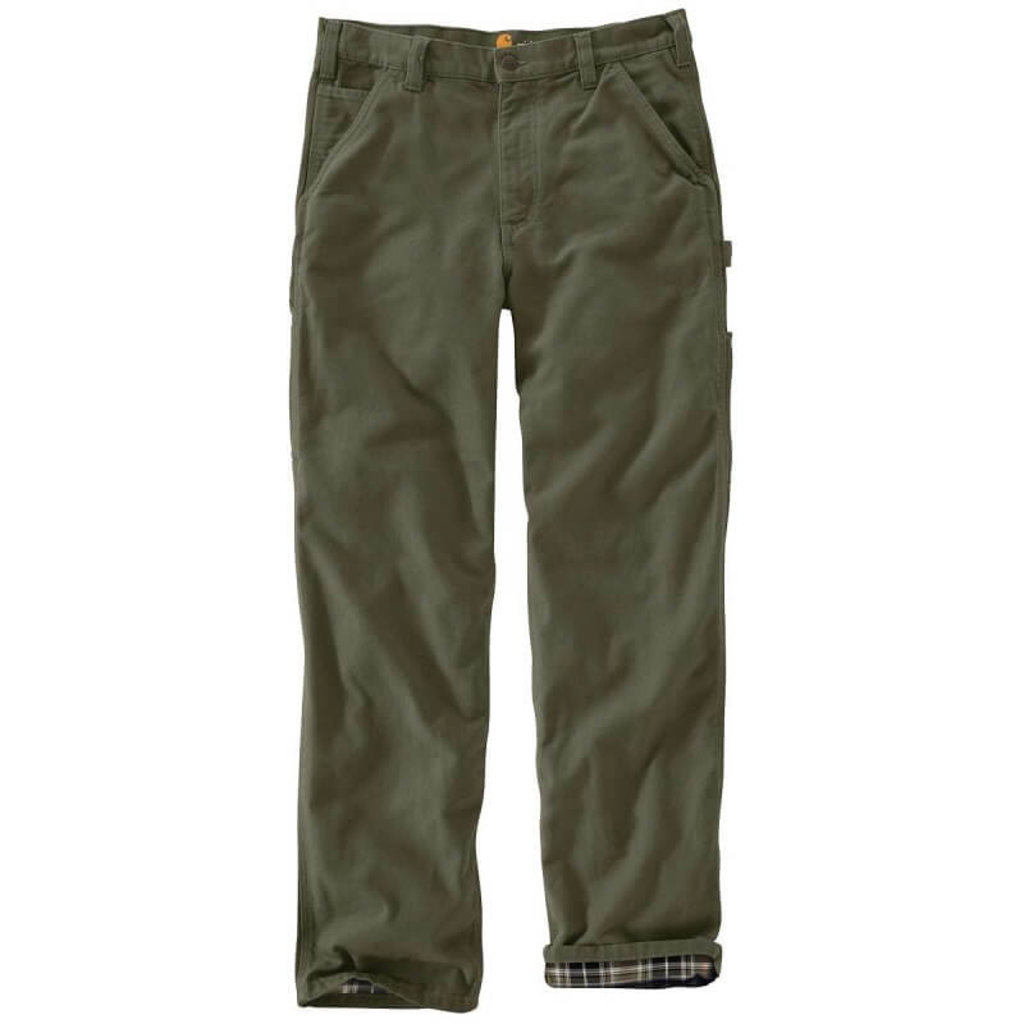 Carhartt B111 - Loose Fit Washed Duck Flannel Lined Work Pant