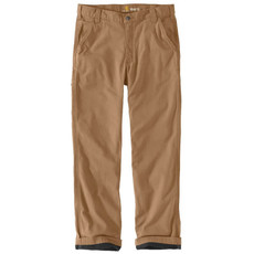 Carhartt 103342 - Rugged Flex Relaxed Fit Canvas Flannel Lined Work Pant
