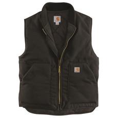 Carhartt V01 - Firm Duck Insulated Rib Collar Vest
