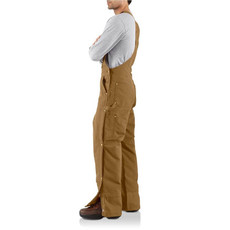Carhartt R41 - Loose Fit Firm Duck Insulated Bib Overall