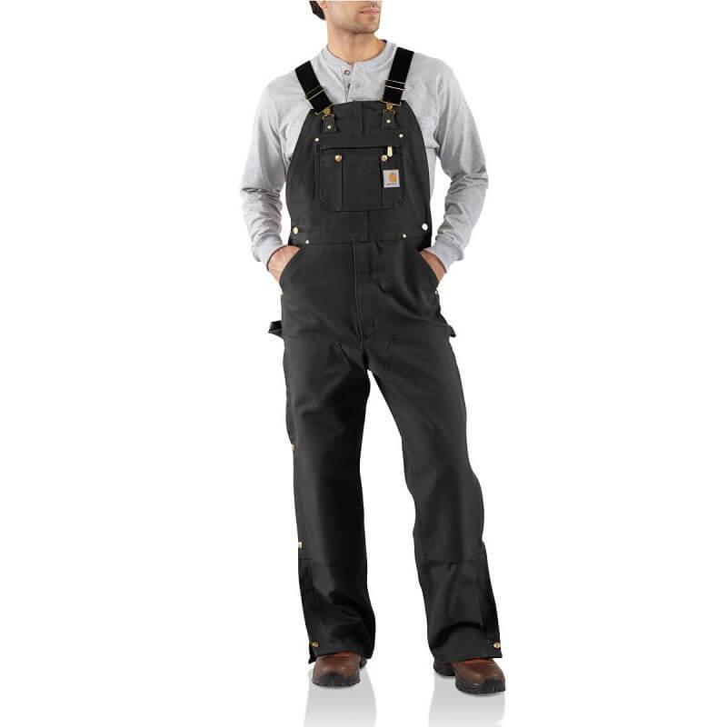 Carhartt R37 - Loose Fit Firm Duck Bib Overalls