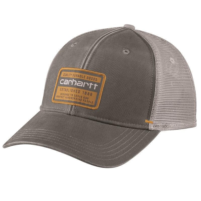 Carhartt 104723 - Canvas Mesh-Back Quality Graphic Cap