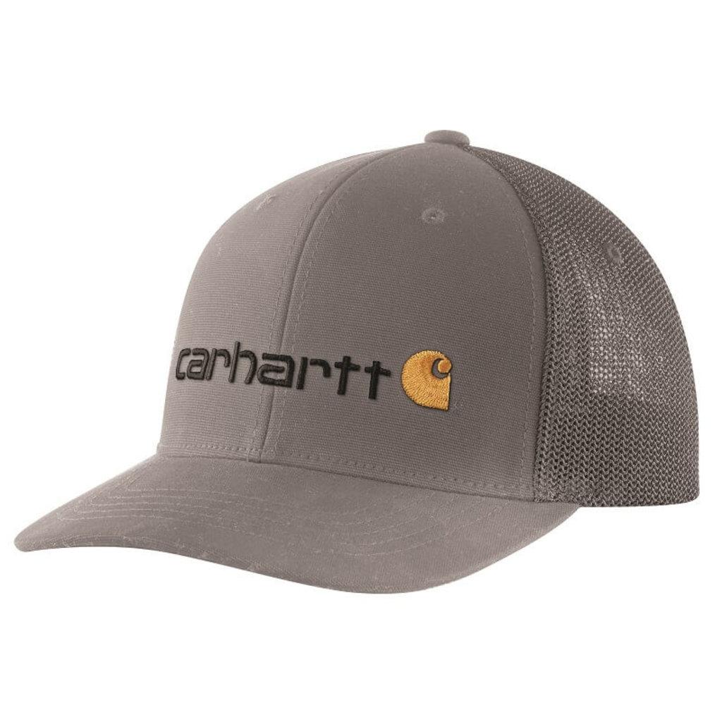 Carhartt 104192 - Rugged Flex Canvas Mesh-Back Fitted Logo Graphic Cap