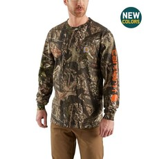 Carhartt 101776 - Workwear Graphic Camo Sleeve Long Sleeve T-Shirt