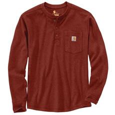Carhartt 104429 - Relaxed Fit Heavyweight Long-Sleeve Henley Pocket Thermal T-Shirt