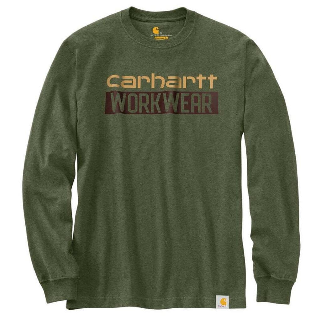 Carhartt 104431 - Original Fit Heavyweight Long-Sleeve Workwear Graphic T-Shirt