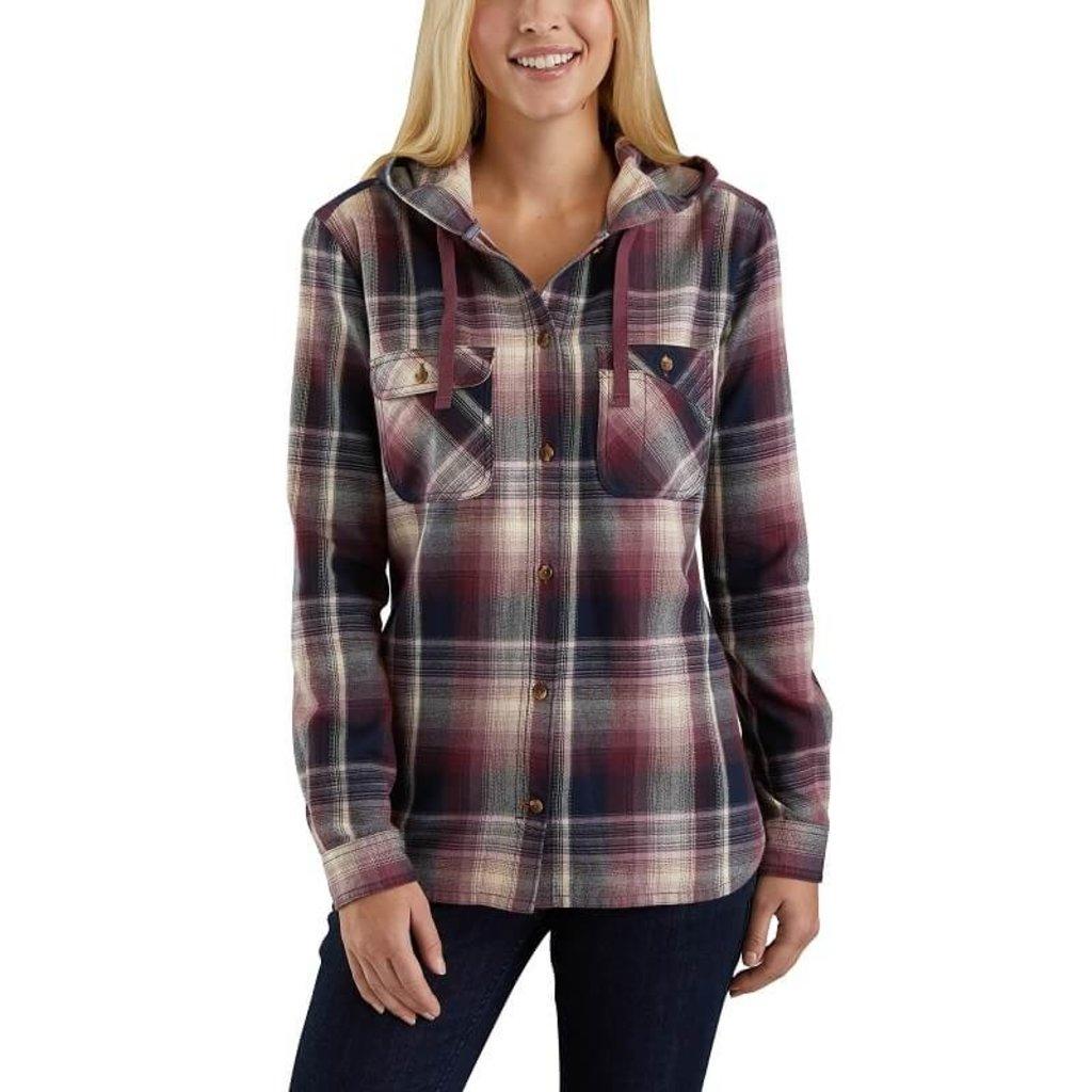 Carhartt 103235 - Beartooth Hooded Flannel