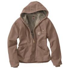 Carhartt WJ141 - Sandstone Sierra Jacket Sherpa Lined
