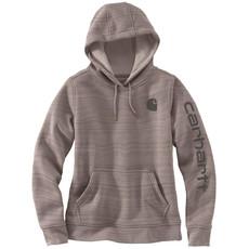 Carhartt 102791 - Clarksburg Sleeve Logo Hooded Sweatshirt
