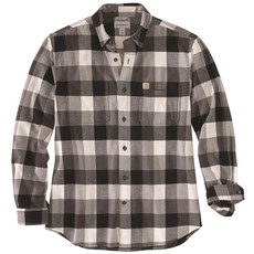 Carhartt 104448 - Rugged Flex Relaxed Fit Flannel Long-Sleeve Plaid Shirt