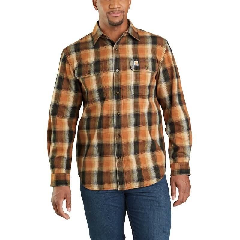 Carhartt 103822 - Hubbard Flannel Long Sleeve Shirt