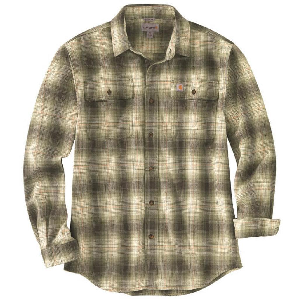 Carhartt 104451 - Origianl Fit Flannel Long-Sleeve Plaid Shirt