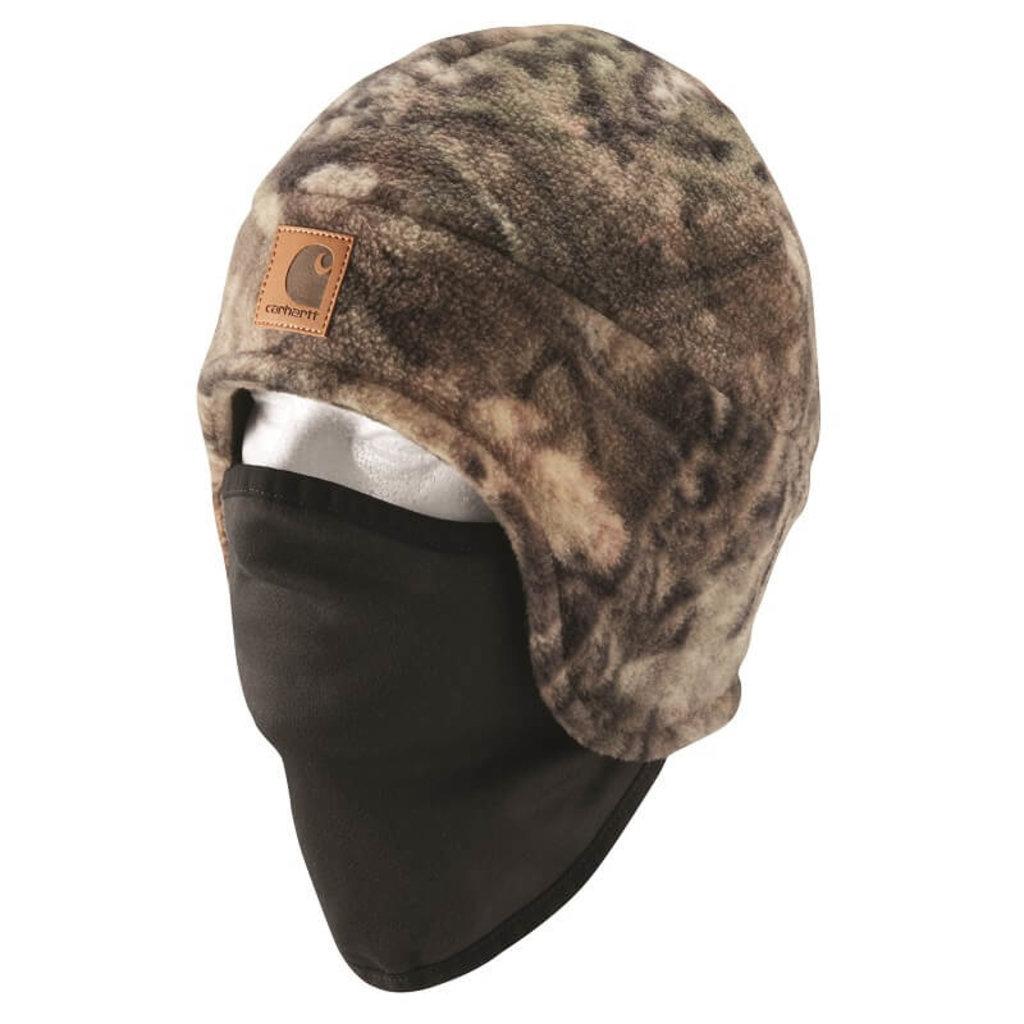 Carhartt A295 - Camo Fleece 2 in 1 Headwear