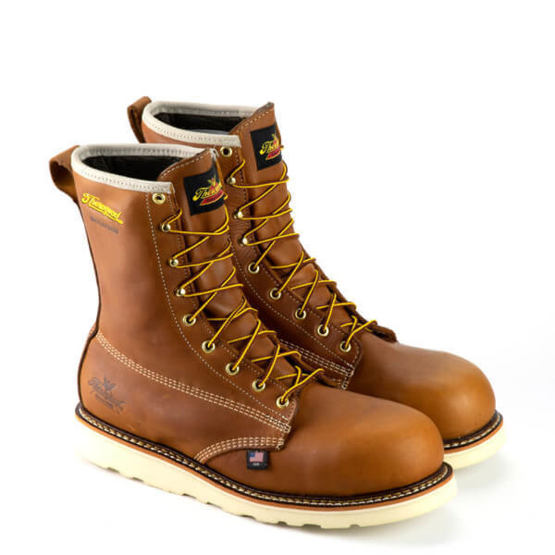 Thorogood 8-inch American Heritage Round Toe Boots