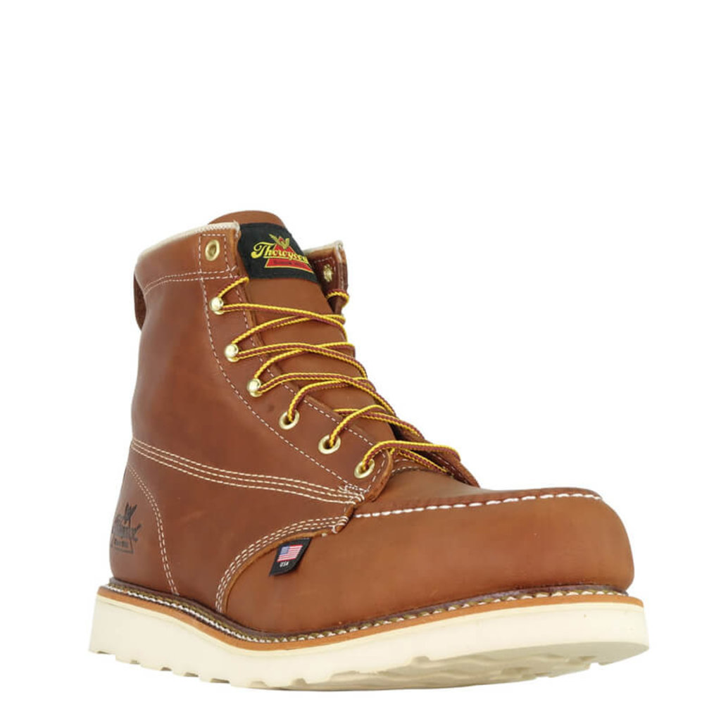 Thorogood 6-inch American Heritage Moc Toe Safety Toe Boots