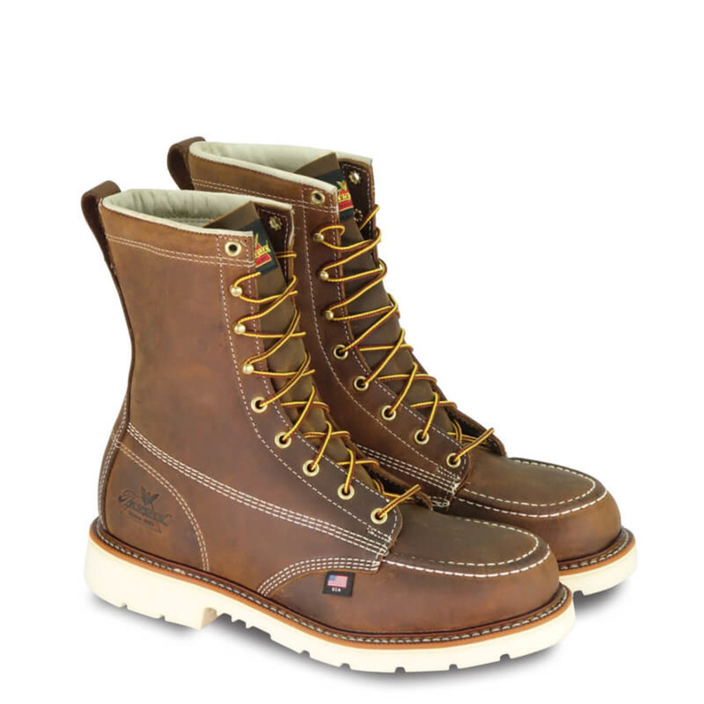 Thorogood 8-inch American Heritage Moc Toe Boots