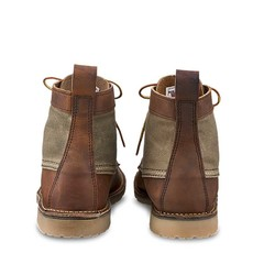 Red Wing Shoes Heritage 6 -inch Weekender Canvas Moc Toe Boots
