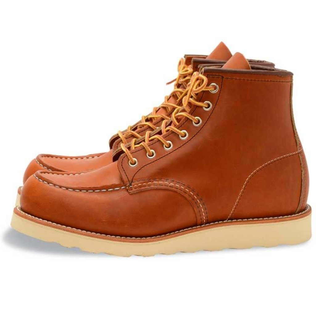 Red Wing Shoes Heritage 6-inch Classic Moc Toe Boots