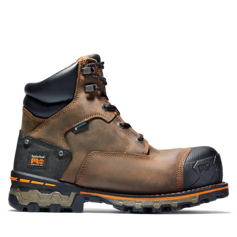 Timberland Pro Timberland Pro 6-inch Boondock Safety Toe Boots