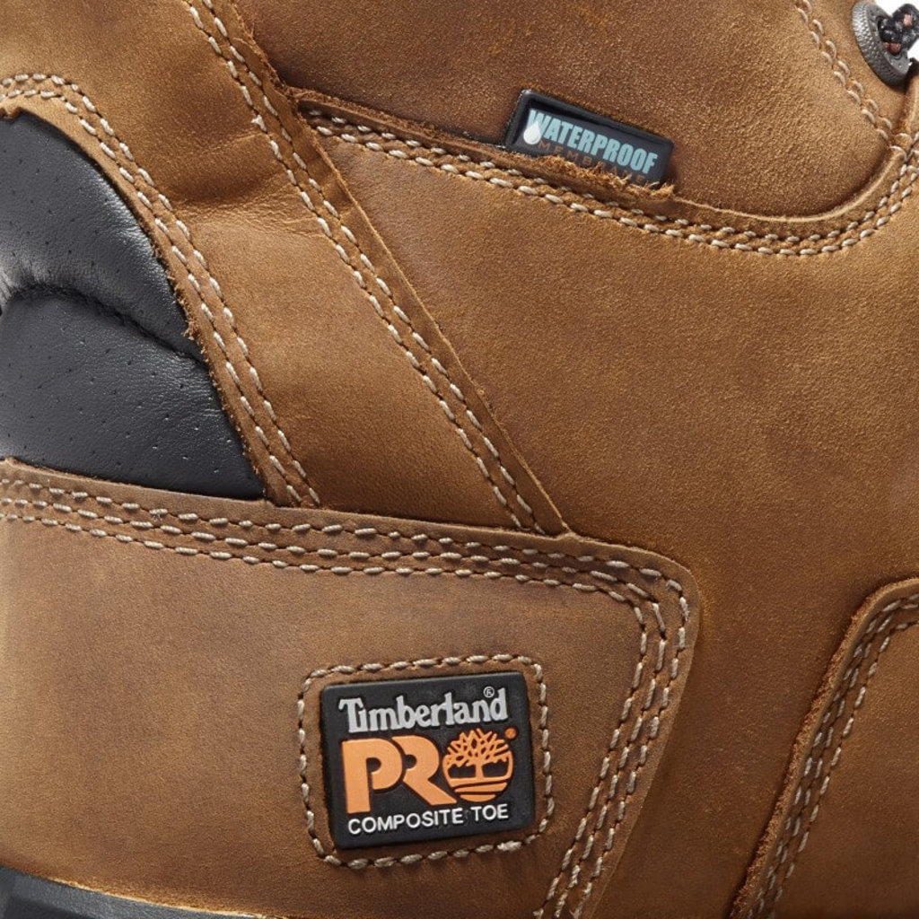 Timberland Pro 8-inch Boondock Safety Toe Boots