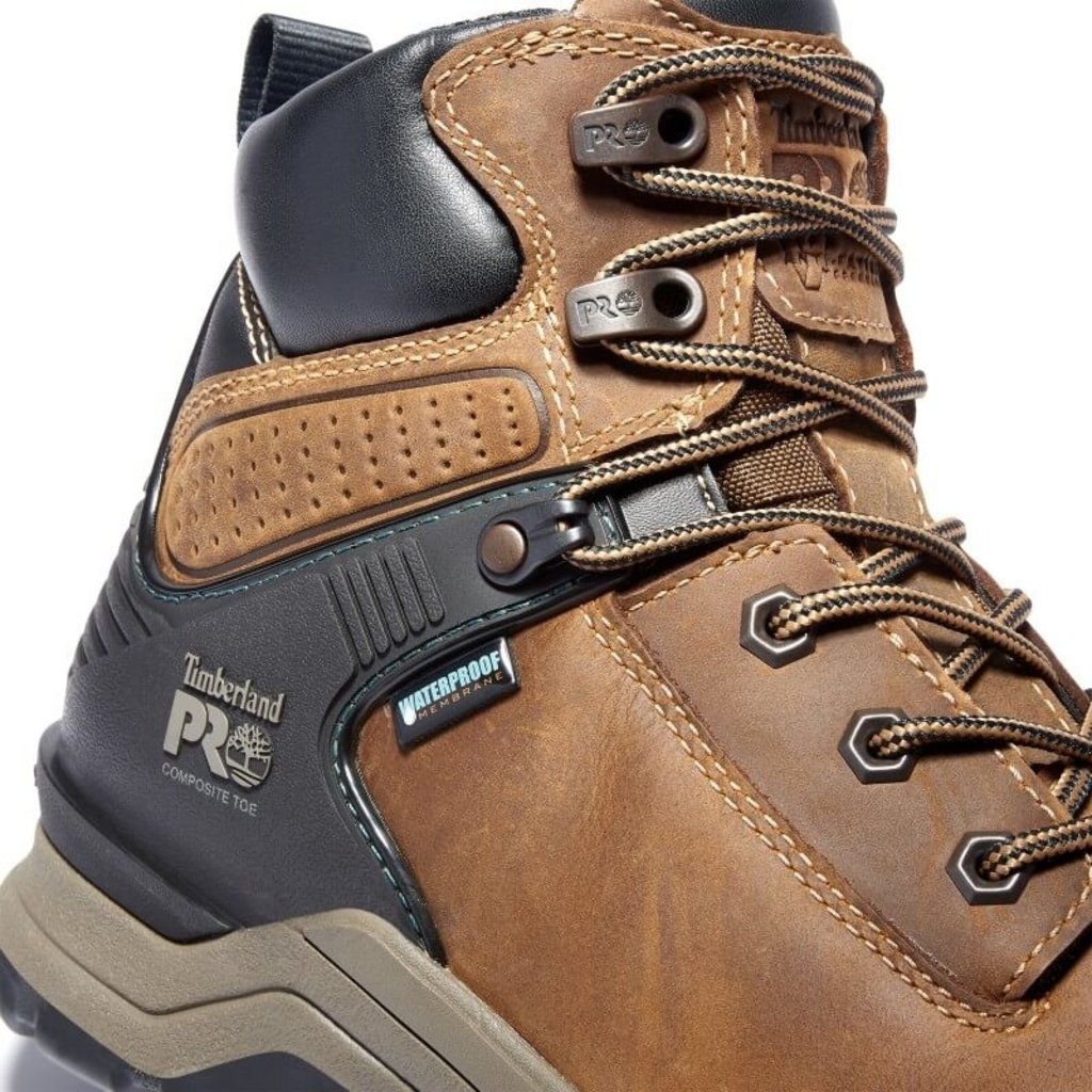 Timberland Pro Women's  Hypercharge 6-Inch Composite-Toe Waterproof Work Boots