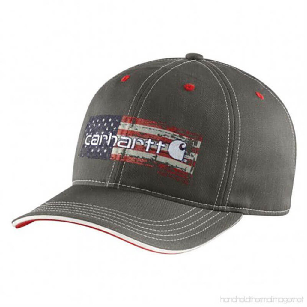 Carhartt 102494 - Distressed Flag Graphic Cap