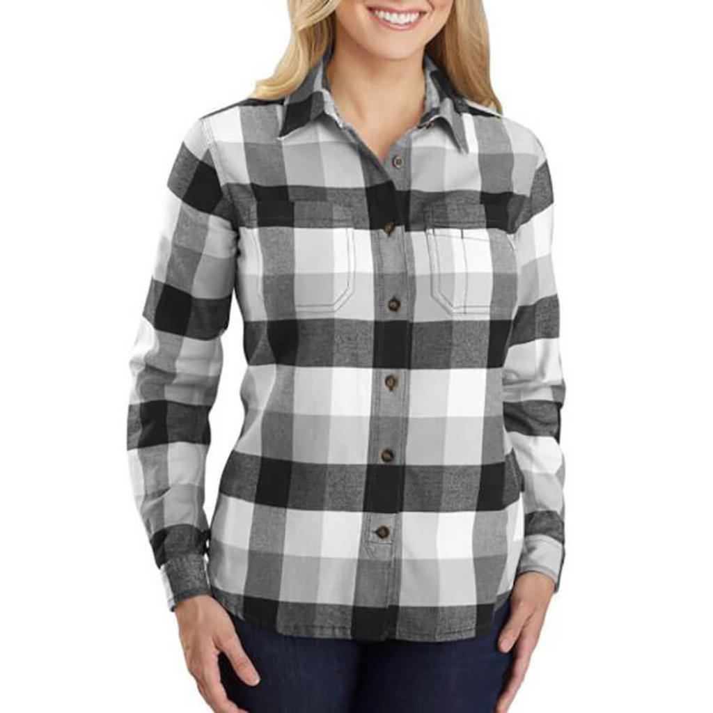 Carhartt 104516 - TW448 W RF Rlxd Fit Flnl Pld Shirt
