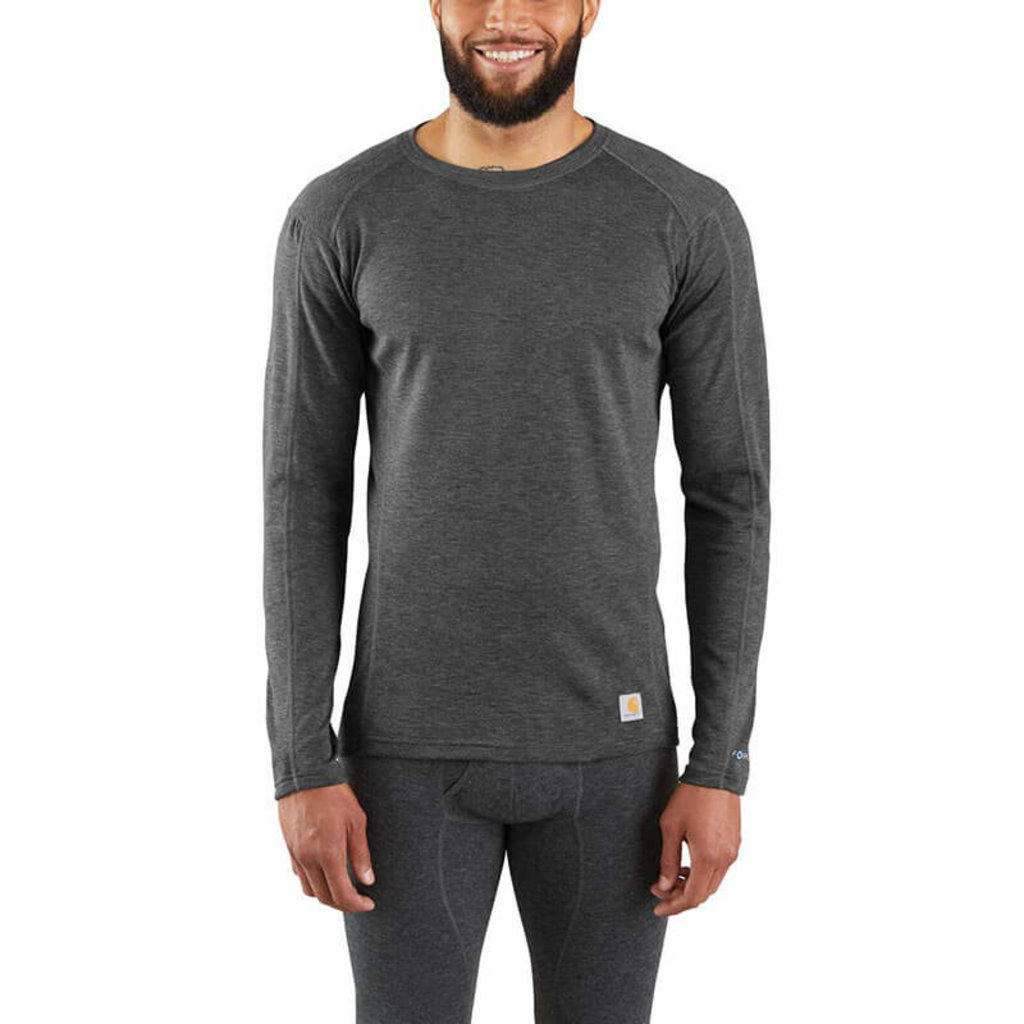 Carhartt MBL131 - FORCE® Heavyweight Synthetic-Wool Blend Base Layer Crewneck Top