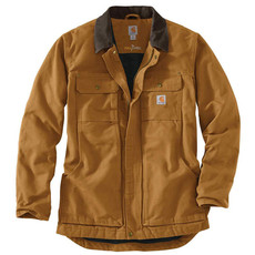 103283 - Full Swing Relaxed Fit Washed Duck Tradtional Coat