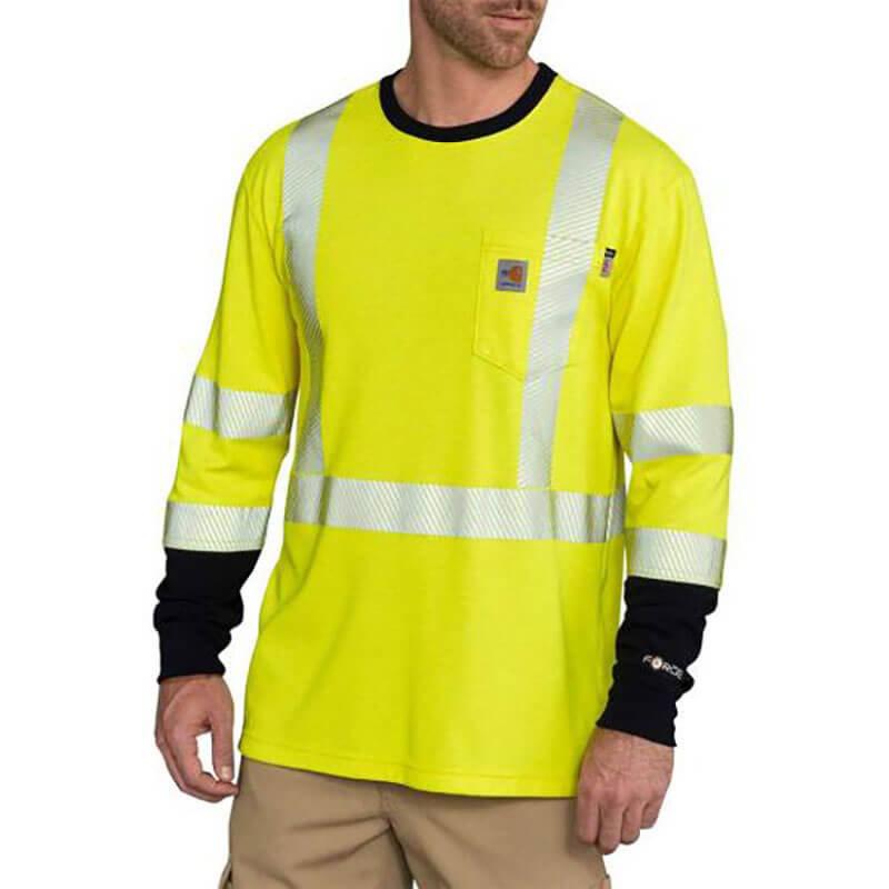 102905 - FR High-Visibility Force Long-Sleeve T-Shirt