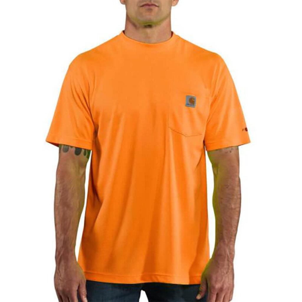 Carhartt 100493 - High-Visibility Force Color Enhanced Short-Sleeve T-Shirt