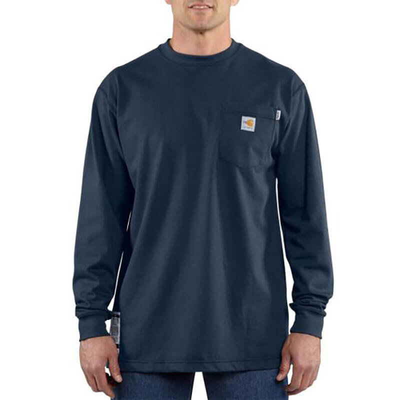 100235 - FR Force Cotton Long-Sleeve T-Shirt