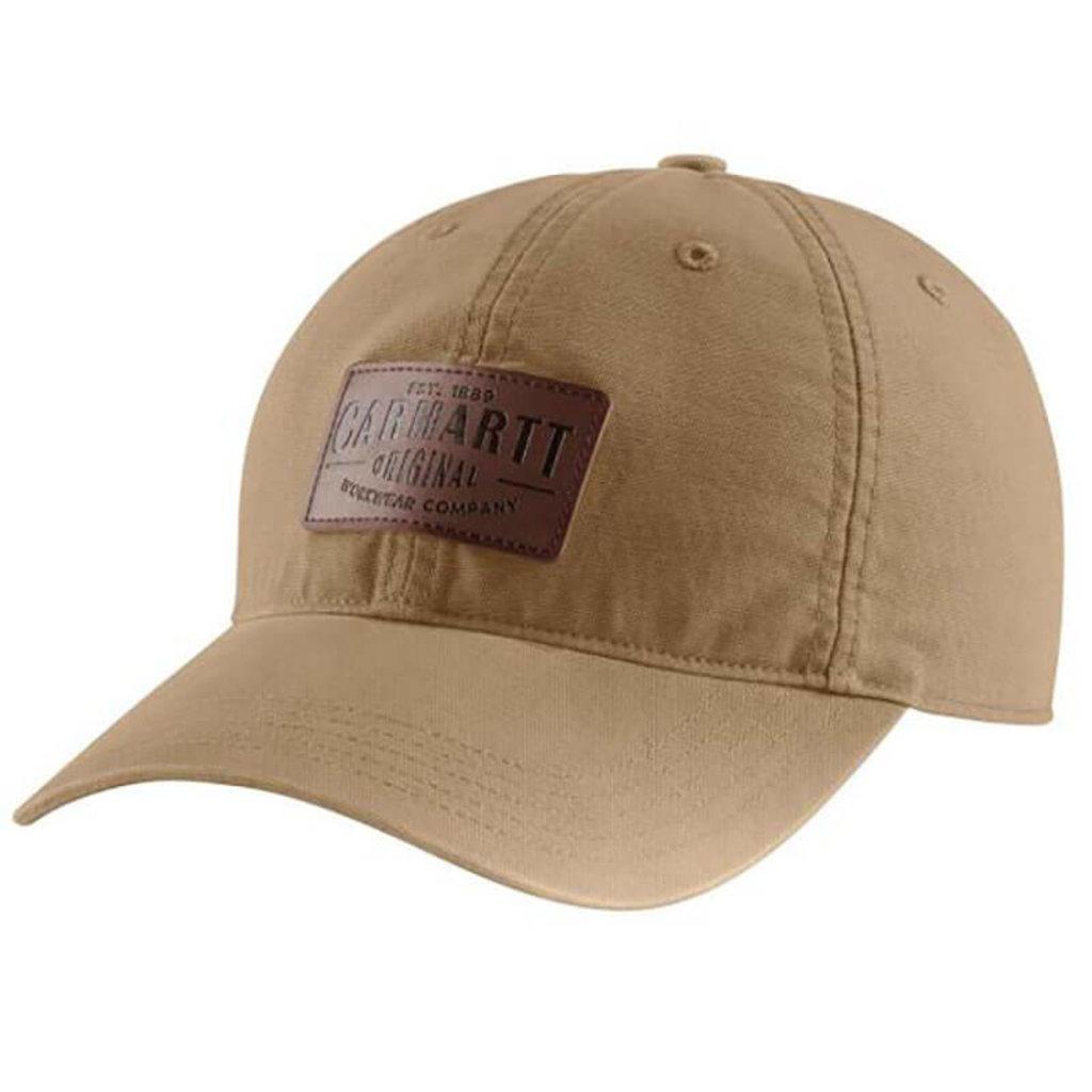 Carhartt 103534 - Rigby Stretch Fit Leatherette Patch Cap