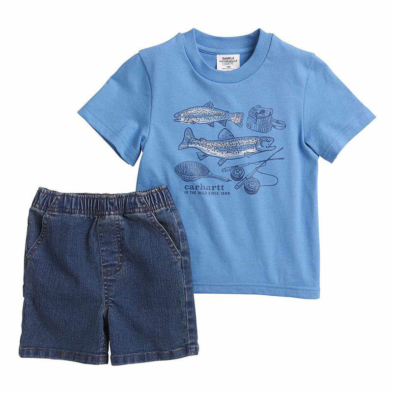 Carhartt CG8710 - Infant Boys 2 Piece