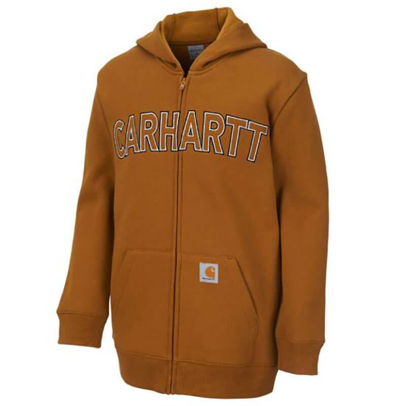 Carhartt CP8510 - Logo Fleece Full Zip Sweatshirt
