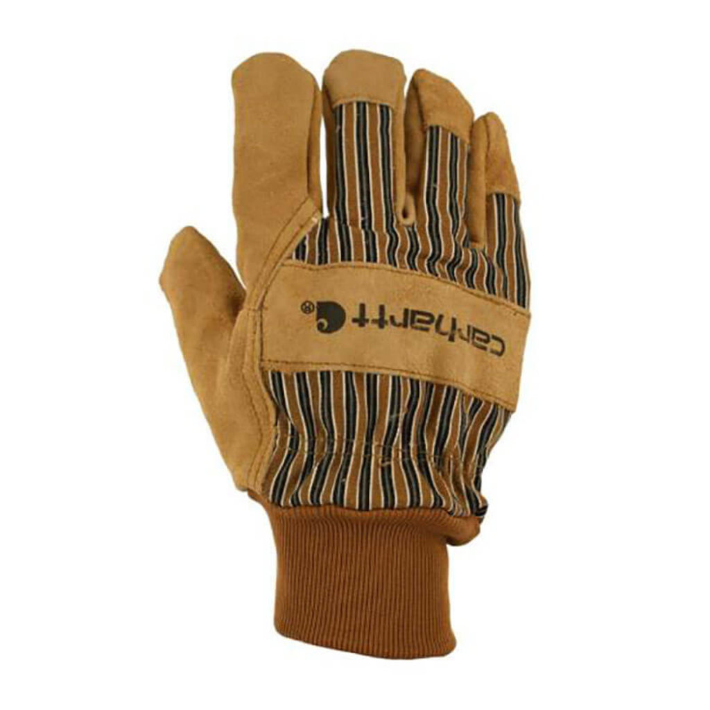 Carhartt A512 - Insulated Duck / Synthetic Suede Knit Cuff Glove