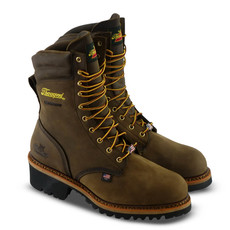 Thorogood 804-3555 - 9-Inch USA Logger Series Safety Toe Boots