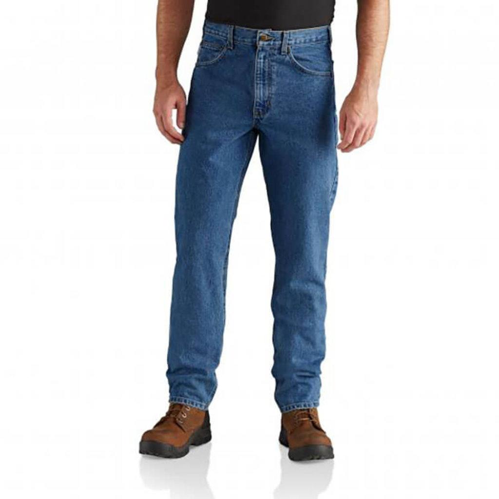 Carhartt Straight Fit Heavyweight 5-Pocket Tapered Jean - B18 -CLOSEOUT